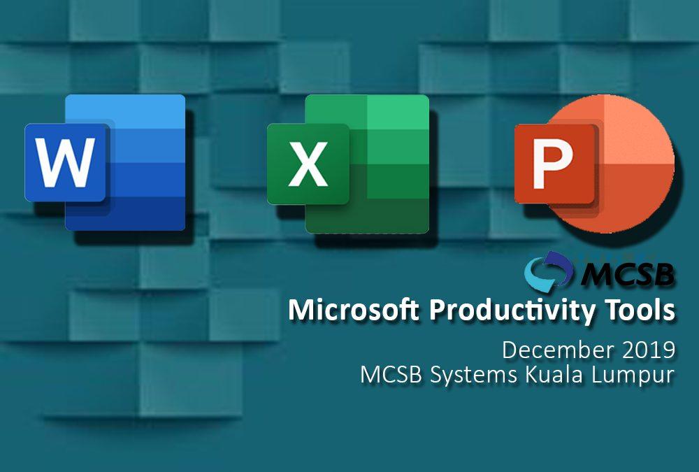 Microsoft Productivity Tools