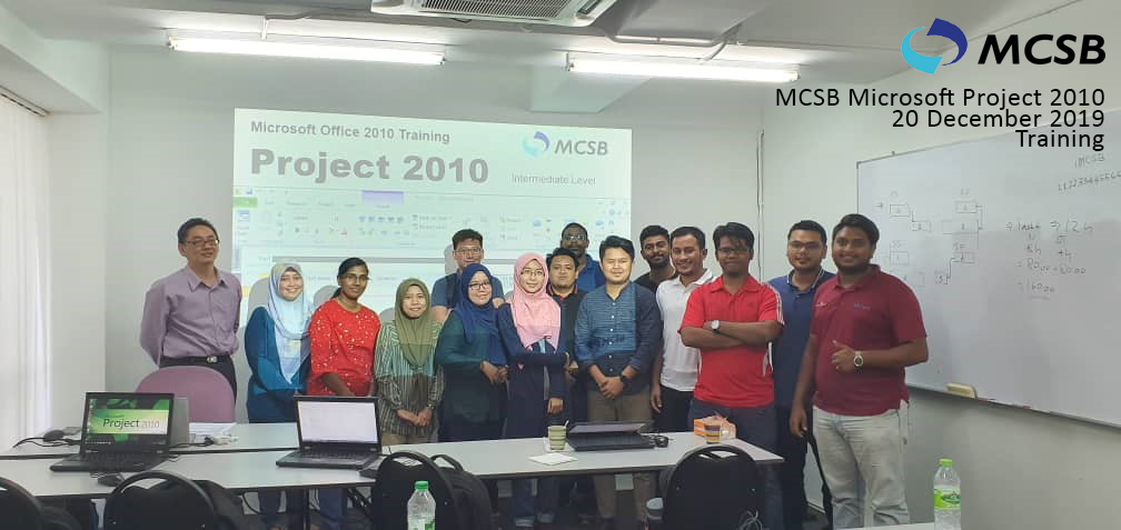 MCSB Microsoft Project 2010 Engaged in Large Scale of Participants